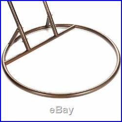 2 Person Heavy Duty Rattan Hammock Hanging Wicker Porch Swing Chair