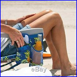 2 Tommy Bahama Backpack Beach Folding Deck Chair Pineapple NEW COLLECTION 2020