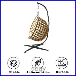 300BL Hammock C Stand Solid Steel Construction For Hanging Air Porch Swing Chair