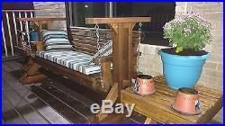 4ft Handmade Southern Style Porch Glider Glider Swing Patio Glider Glider Bench