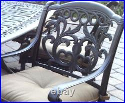 6 swivel rocker dining chairs patio set of outdoor living cast aluminum Flamingo