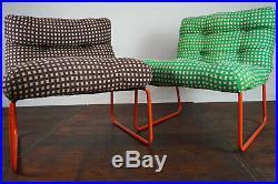 70er Campingstuhl Gartenstuhl Oldtimer Easy Chair Sessel Vintage Bulli Stuhl 1/2