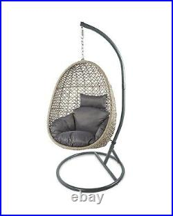 Aldi Gardenline Hanging Egg Chair Brand New & Sealed. Collection Only IN HAND