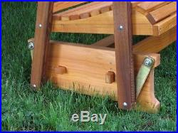 Amish Made 5' Cedar Glider