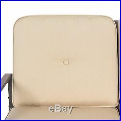 BCP 2-Person Patio Glider Loveseat Rocking Chair Bench