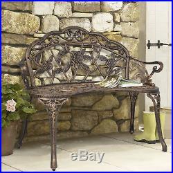 BCP Floral Rose Garden Bench