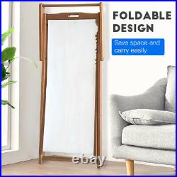 Beach Sling Chair Set Solid Eucalyptus Wood Folding Adjustable Frame Set of 2