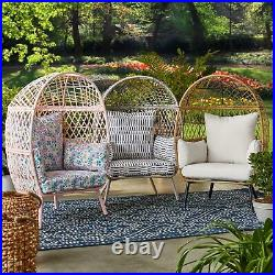 Better Homes & Gardens Ventura Stationary Outdoor Kids Egg Chair