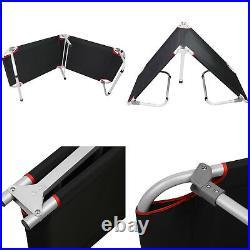Camping Patio Portable Sleeping Folding Bed Cots Beach Pool Travel Sun+ Free Bag
