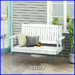 Caspian Outdoor Acacia Wood Porch Swing