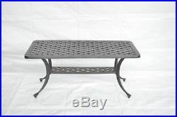 Cast Aluminum Outdoor Patio Furniture 6 pc deep seating set