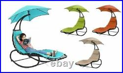 EZone Outdoor Hammock Chair Lounge Swing, Curved Chaise Lounge Chair Swing