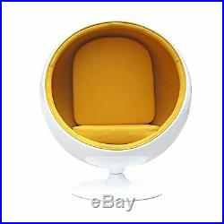 Egg CHAIR Retro Lounge In Green, Yellow I Have More Color Options See Descript