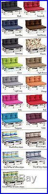 Euro Palette Cushions Pallet Cushions Outdoor Garden Sofa Seat Foam seat Pad