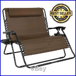 Amazing Folding 2 Person Lounge Chair Zero Gravity Outdoor Patio Ibusinesslaw Wood Chair Design Ideas Ibusinesslaworg