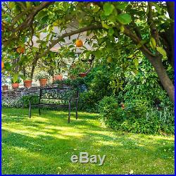 Gartenbank Eisenbank Metallbank Parkbank Balkonbank Garden Bench Gusseisen Bank