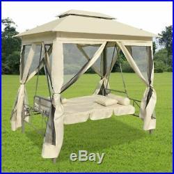 Gazebo Swing Chair Patio Bed Swings Benches Outdoor Garden Yard Sun Shade