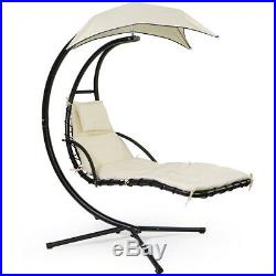 Helicopter Patio Hanging dream Lounger Chair Stand Swing Hammock Chair
