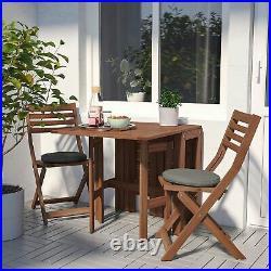 IKEA Klapptisch von Ikea für außen, braun Garten- Terassentisch, Tisch, Garten