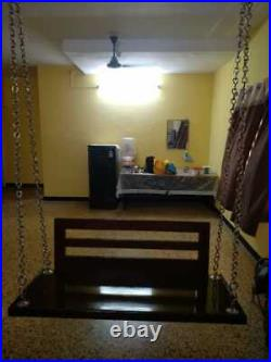 Indoor Chettinadu swing Full solid teakwood model brand new swing