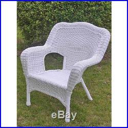 Marvelous International Caravan 31802Chwt Resin Wicker Patio Lounge Spiritservingveterans Wood Chair Design Ideas Spiritservingveteransorg