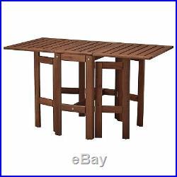 Klapptisch von Ikea für außen, braun Garten- Terassentisch, Tisch, Garten