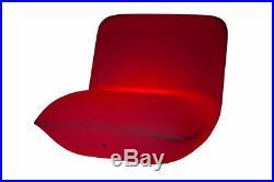 Luminatos HAMBURG, LED Sessel beleuchtet Farbwechsel Fernbed. Akku Leuchtsessel