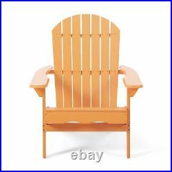 Magnolia Outdoor Acacia Wood Adirondack Chair (Set of 4)