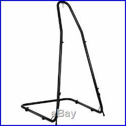 NEW Black Metal Adjustable Outdoor Garden Patio Swing Chair Seat Frame