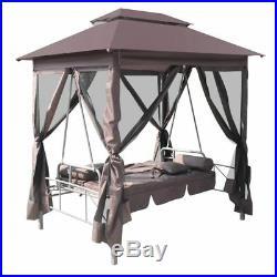 Newest Gazebo Swing Chair Seat Sunbed Outdoor Garden Yard Home Sun Shade NEW