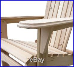 Outdoor Adirondack Wood Chair Folding Patio Lawn Garden Furniture WithPlans