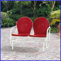 Outdoor Bench Glider Swing Seat Patio Garden Furniture Porch Yard Rocking Chair