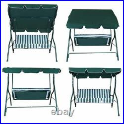 Outdoor Canopy Swing Chair 3 Person Patio Backyard Awning Yard Porch Furniture