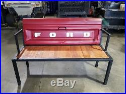 Outdoor Ford Tailgate Bench