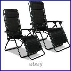 Outdoor Garden Patio Folding Textoline Sun Lounger Recliner Beach Chair Bed