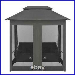 Outdoor Garden Swing / Bed Patio Adjustable Canopy Deck Porch Swing Seat Chair