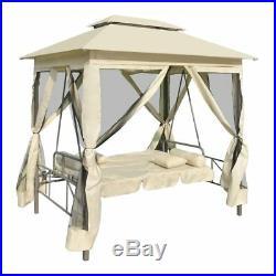 Patio Gazebo Swing Chair Garden Outdoor Porch Seat Daybed Hammock Furniture Set