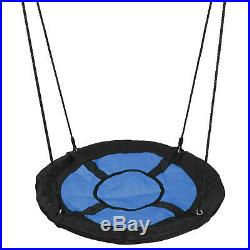 Powder-Coat 72 All-Steel All Weather Stand + 40 KidsTree Swing Saucer Swing