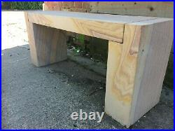 RAINBOW SANDSTONE BENCH SOLID STONE 1035x300x450mm 21749 DELIVERY + SEALANT INC
