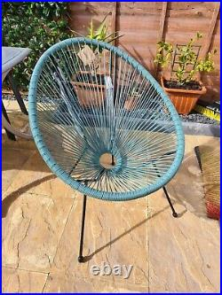Rattan String Chair Moon Egg Modern Stylish Funky Furniture Indoor Outdoor New
