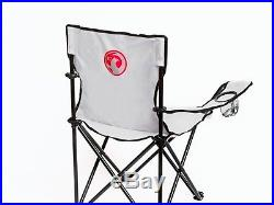 Richbrook Official Vauxhall Folding Portable Camping Directors Chair -Cup Holder