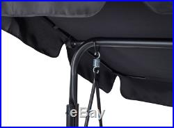 Somerset 3 Swinging Seater Hammock Bed Heavy Duty Garden Bench Patio Gardman