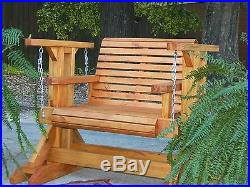 Southern Swings Handmade Patio Set, Outdoor Furniture, Patio Furniture, Porch Swing