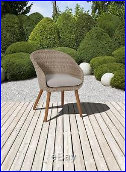 gartenmobel outdoor, stuhl gartenstuhl terrassenstuhl fsc akazie gartenmöbel polyrattan, Design ideen