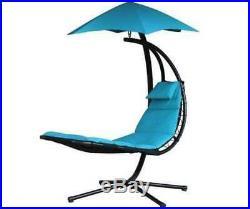 Swinging garden hammock swing chair