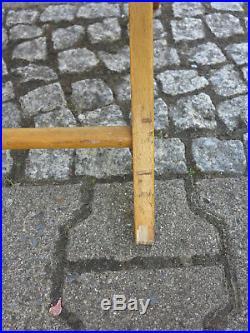 TRUE VINTAGE 60er KLAPPSTUHL Holzstuhl Stuhl Gartenstuhl Terrasse Buche 60s
