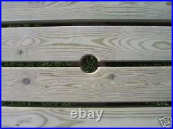 The Hercules, Extra Wide, Extra Heavy Duty Redwood Picnic Bench