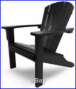 TruePower Woodlike Heavy Duty Poly Adirondack Chair