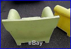 VG Italy Kartell Bubble Club Sofa Yellow & Green Chair Philippe Starck Can Ship