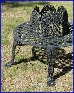 Victorian Tree Surround Vintage Replica Garden Furniture Old Style Outdoor Bench